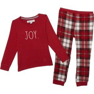 NEW Rae Dunn Christmas Pajamas -Joy- 4T